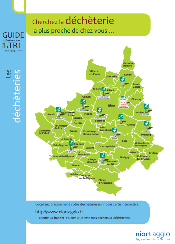 Ramassage des déchets & Déchetterie à Bessines (79)
